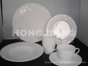 Bone China Dinner Set (HJ068013) pictures & photos