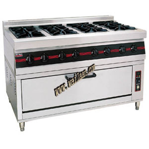 8-Burners Gas Range with Gas Oven (GTL-718)