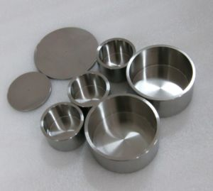 Forging Tungsten Special Shape Parts-Crucible and Caps for Heating Element pictures & photos