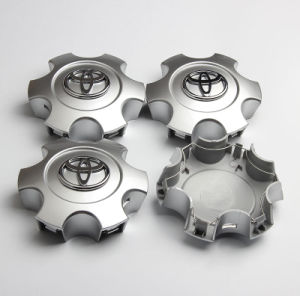 Toyota Tundra Center Caps >> Wheel Center Cap Hubcap For Toyota Sequoia Tundra 69440 Hyper Silver With Chrome Logo