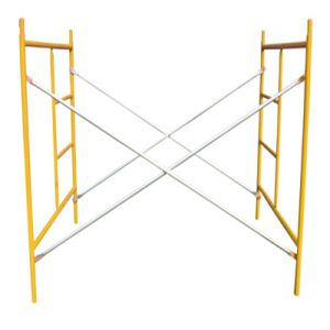 Steel Ladder H Frame Scaffolding System for Construction Formwork