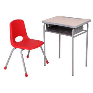Fashion School Desks And Color Plastic Chairs /School Furniture