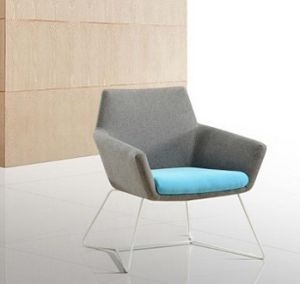 Sofa Chair Cloth Color Matching Example Room Furniture Chair Contracted New Conference Chair (M-X3681) pictures & photos