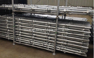Hot DIP Galvanized Cuplock Scaffolding Standard with Spigot pictures & photos