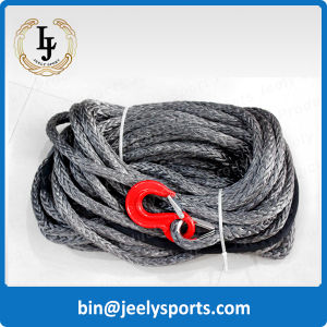 Dyneema UHMWPE Synthetic Winch Rope with Hook Thimble
