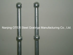 Hot Dipped Galvanized Steel Pipe Upright Post