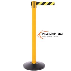 Safetypro 250 Yellow Color Heavy Duty Retractable Belt Barriers pictures & photos