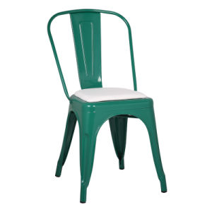 Wholesale Cheap Steel Industrial Retro Cafe Metal Dining Chair Zs-T01 pictures & photos