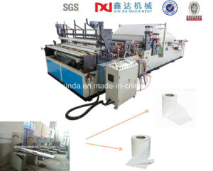 High Production Full Automatic Toilet Paper Cutter Making Machine Price pictures & photos