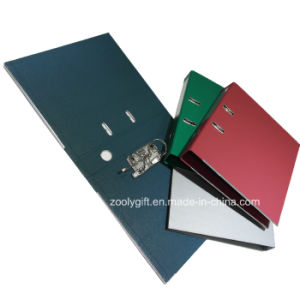 Quality Solid Color Marble Paper Lever Arch File pictures & photos