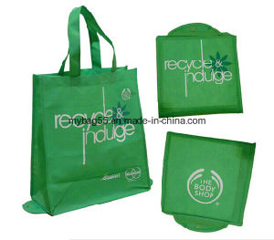 Best Selling Custom Print Folded Non Woven Shopping Bag pictures & photos