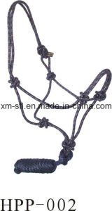 Durable Horse Halter with Lead Rope