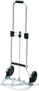 Foldable Aluminium Hand Trolley (HT022M1-1) pictures & photos