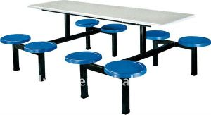 Plastic Dining Table and Chair Set (DT-06) pictures & photos