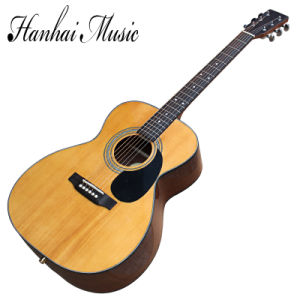 Hanhai Music/41′′ Acoustic Guitar with Om Body (00028S) pictures & photos