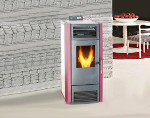 Indoor Using Temperature Setting Pellet Stove with Remote Control pictures & photos