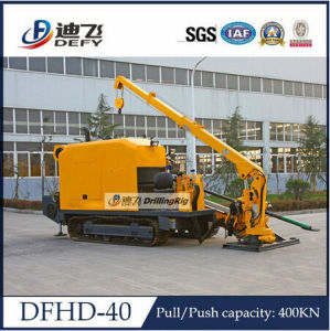 Pipeline 400kn Horizontal Directional Drilling Machine Dfhd-40 pictures & photos