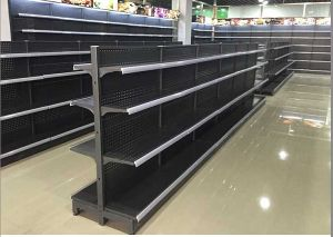 Commercial Display Double Side Supermarket & Store Gondola Shelving pictures & photos