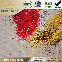Polyester Glitter Powder for Textile Printing, Screen Printing