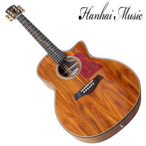 China Hanhai Music 41 Natural Wood Color K24 Acoustic Guitar