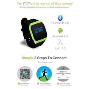 New Product Waterproof Smart Watch Swimming Smart Watch 6 Axis Gravity Acceleration IP67 Swimming Mode Bracelet Wristband pictures & photos