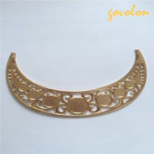 New Golden Alloy Neckline Decorated pictures & photos