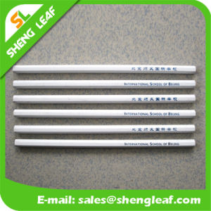 Silver Wooden Pencil in Stock for Promotion Items (SLF-WP023)