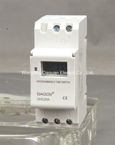Weekly Programmable Digital Timer/Time Switch with Pulse (Dhc20A)