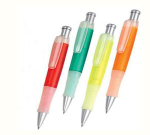OEM Made of Plastic Promotional Rubber Ballpoint Pens pictures & photos