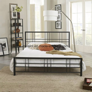 China Square Metal Simple Bed Frame