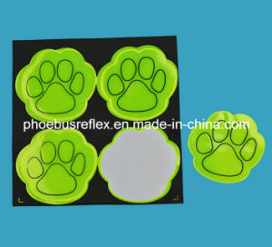CE Certified Dog Feet Reflective Sticker Safety Protection