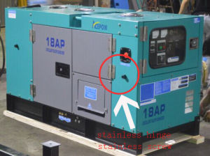 60kVA 60Hz Three Phase Single Phase Diesel Generator Set pictures & photos