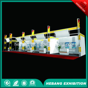 Hb-L00017 3X3 Aluminum Exhibition Booth pictures & photos
