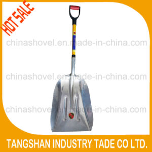 Fiberglass Handle Aluminum Snow Scoop Shovel pictures & photos