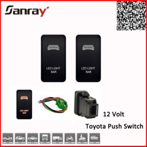 China 12v led light bar push switch for toyota 4runner prado 120 12v led light bar push switch for toyota 4runner prado 120 series mozeypictures Image collections