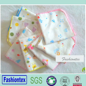 Wholesales Bamboo Muslin Soft Baby Handkerchief pictures & photos