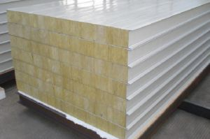 Fire Retarding Rock Wool Wall Panel (Width 600mm-1225mm) pictures & photos