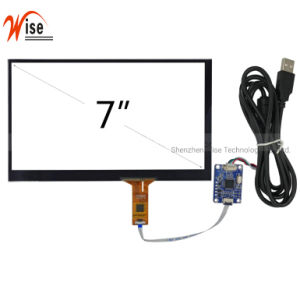 "7 "" Customized Driveless Capacitive Touch Screen/Capacitive Touch Panel/CTP with USB Interface"
