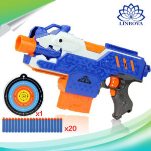 Gun Soft Toy Electric Bullet Water Rifle Bullets for Nerf Weapon Electrical  Plastic Toys