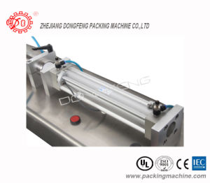 Paste Semi-Automatic Pneumatic Filling Machinery for Can (DLG) pictures & photos
