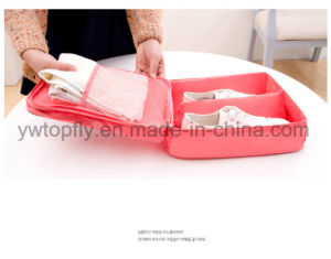 Portable Waterproof Shoe Bag Traveling Tote Net Shoe Storage Bag pictures & photos