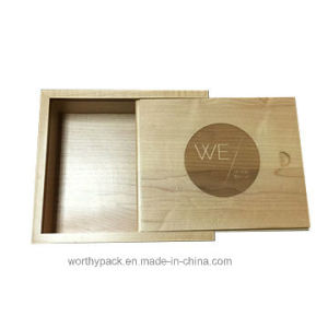 Painted Wooden Gift / Packaging/ Storage Box with Slid Lid