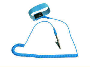 Antistatic Cordless Wrist Strap Used in Electronic Factory pictures & photos
