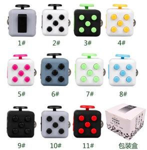 Cheap Hand Plastic Anti Stress Anxiety Fretfidget Dice Fidget Cube pictures & photos