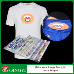 Qingyi Factory Price Heat Transfer Printing Sticker for T Shirt pictures & photos