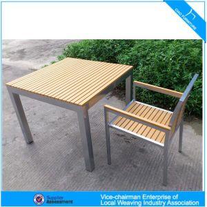 Fabulous Modern Outdoor Furniture Hotel Aluminum Plastic Wood Table And Chair Customarchery Wood Chair Design Ideas Customarcherynet