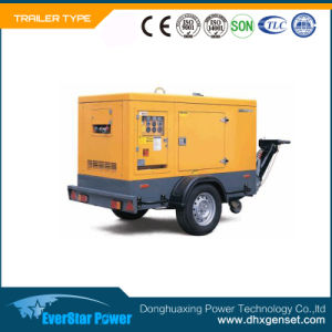 Portable Moveable Trailer Mobile Type Electric Power Diesel Generator Set