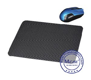 Popular Made in China Custom Laptop Carbon Fiber Office Business Mouse Pad Computer Accessories pictures & photos