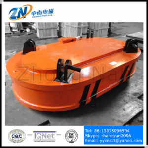 High Frequency Electric Lifter with Oval Shape for Steel Scrap Lifting From Narrow-Space MW61-300150L/1-75 pictures & photos