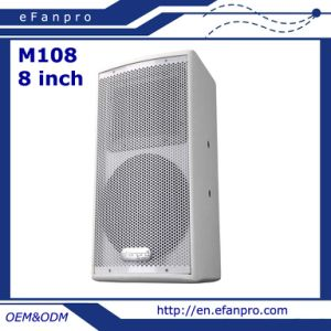 Single 8 Inch Professional Meeting Speaker Audio Equipment (M108)